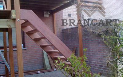 Brancart Bernard - Terrasse sur pilotis